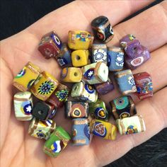 Venetian beads.