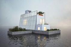 Free Floating House Floor Plans| EcoBuilding Pulse Magazine | Sustainability, Design, Cyprien Roy