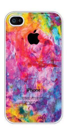 Phantasmic Arts - Colorful rubber iphone 4 case-Fits iphone 4 and iphone 4s #Iphone4Cases #iphone4s,