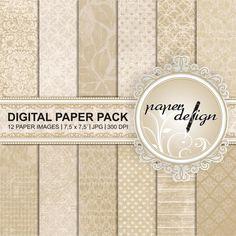 Digital Paper Old DIGITAL PAPER digital Background von Stilboxx