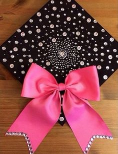 Loving the rhinestones on the bottom of the bow