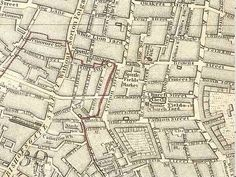 Map of Spitalfields Area - 1787 - Brick Lane - Wikipedia