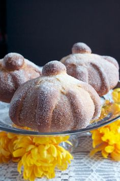 Pan de Muerto is a traditional sweet bread made for Dia De Los Muertos celebrations. Anise seed, orange zest and cinnamon make this fragrant bread worth the effort!