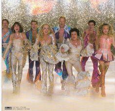 Meryl and her Mamma Mia castmates (Colin Firth, Christine Baranski, Julie Walters, Pierce Brosnan, Amanda Seyfert, Dominick Cooper  ...