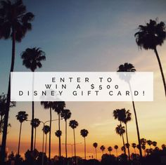 April #Giveaway: Enter to Win a $500 #Disney Gift Card!