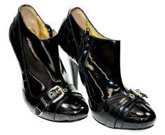 Versace Women's TV5A01 80743 Black High Heel Pumps