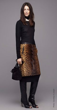 leopard poetic wanderlust- animal print- Fall 2012 Joseph......This OBSESSION with LEOPARD has got to STOOOOPPP!!!!!!!!!!!!!!