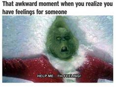 I've caught the feelings!
