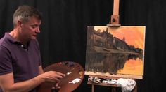 A MUST for anyone beginning in oil paints! Early Morning Varanasi - Oil Painting Demonstration by James Willis.