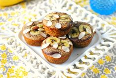 Almond Banana Muffins2 .. Tweak / make adjustments / substitutions for THM
