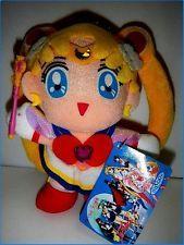 Sailor Moon Super Sailor Moon a plush doll TORU TORU catcher Banpresto BANDAI