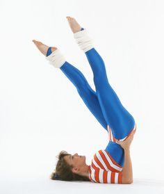 Aerobics kicks 1980s