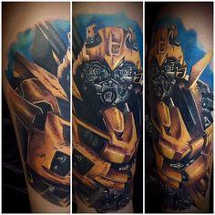 Bumblebee, Űrdongó, Transformers tattoo