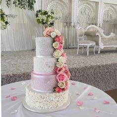 Trendy And Gorgeous Wedding Cake For Your Wedding Fantasy 2020; Wedding Cakes; Floral Wedding Cakes; Floral Cakes; Romantic Cakes; Fondant Wedding Cake; Cheese Wedding Cake; Nude Wedding Cake; Buttercream Wedding Cake;#weddingcake #floralweddingcake #cake #weddingart #fondantcake #cheesecake #nudecake #buttercreamcake Fondant Wedding Cakes, Buttercream Wedding Cake, Floral Wedding Cakes, Floral Cake, Wedding Art, Wedding Styles, Rustic Wedding, Our Wedding, How To Make Cheesecake