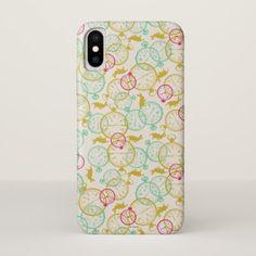 The White Rabbit Pattern iPhone X Case - white gifts elegant diy gift ideas