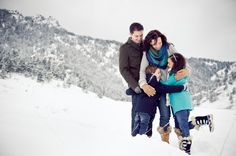 winter family pictures - Google Search