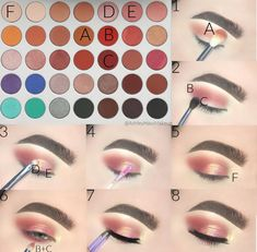 rosy red eye makeup look James Charles palette with morphe Loading. rosy red eye makeup look James Charles palette with morphe Red Eye Makeup, Makeup Eye Looks, Eye Makeup Steps, Colorful Eye Makeup, Makeup For Brown Eyes, Skin Makeup, Beauty Makeup, Full Makeup, Hair Beauty