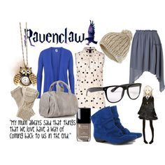"""Ravenclaw"" by chinchillin on Polyvore"