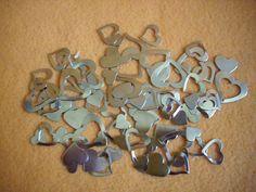 Weiteres - (#693) Herzen,Metall - ein Designerstück von Self_Made_Creative bei DaWanda