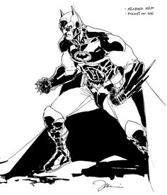 JIM LEE, BATMAN FOR SALE, in G.C.'s A For Sale Comic Art Gallery Room