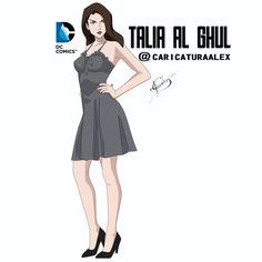 Marvel Dc, Marvel Comics, Nyssa Al Ghul, Talia Al Ghul, Marvel Comic Character, Character Design Animation, Young Justice, Bat Family, Dc Universe