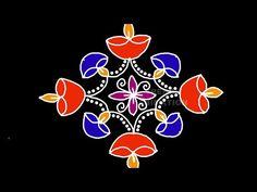 Lotus Rangoli, Diya Rangoli, Youtube Free Music, Rangoli Designs, Hello Everyone, Diwali, Artist, Easy, Cards