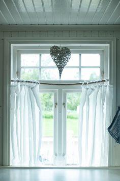 gardiner kjøkken - Google-søk Valance Curtains, Home Decor, Interior Design, Home Interior Design, Home Decoration, Decoration Home, Interior Decorating
