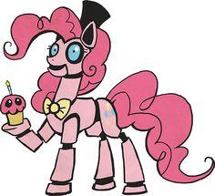 Pinkie Pie - Five Nights at Freddy's by kaizerin.deviantart.com on @DeviantArt =========================   #FNAF