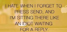 Waiting   for   a reply!