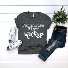 3f1489b1a T-shirt Mockup   Bella Canvas 3415 GREY TRIBLEND   Mockup Tshirt   Flat Lay  Mockup   T-Shirt Blank   Stock Photography   T-Shirt Flat Lay