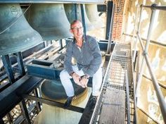 Story of a… Carillonneur Playing the carillon in Bok Tower 200 feet in the air, Geert D'hollander is on cloud nine.