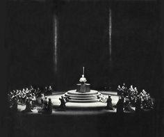 """"""" Parsifal """" 3.Aufzug 2.Bild 1954 Wieland Wagner Bühnenphoto"""