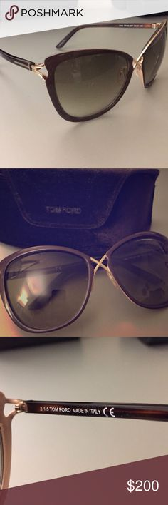 Tom Ford Celia sunglasses Like new Tom Ford sunglasses comes with case and cloth Tom Ford Accessories Sunglasses