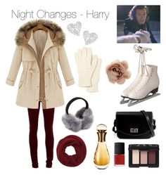 """""""Night Changes"""" by marietommo14 on Polyvore featuring Christian Dior, Lacoste, Vivienne Westwood, Wyatt, NARS Cosmetics, Accessorize, women's clothing, women's fashion, women and female"""
