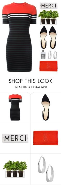 """""""Elegant and Simple"""" by lover-of-pie ❤ liked on Polyvore featuring T By Alexander Wang, Nine West, Rosanna, Yves Saint Laurent, Boskke, Robert Lee Morris and Gucci"""