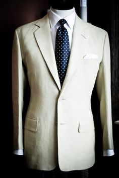 A mannequin in the showroom at Anderson & Sheppard Savile Row