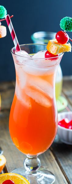 Celebrate Mardi Gras with a Passion Fruit Hurricane.