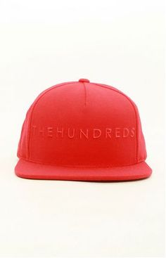 SU12 Basic Snap-Back hat by The Hundreds at MOOSE Limited