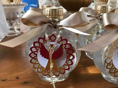 Table Decorations, Furniture, Home Decor, Hand Crafts, Dios, Christening, Decoration Home, Home Furnishings, Interior Design