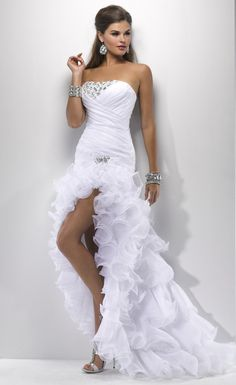 cheap sexy wedding dresses 2013 ball gown short front long back short sexy wedding gowns 547x893