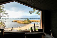 Talo Luvialla Small Cottage Homes, Prefab, Small Spaces, Aquarium, House Design, Windows, Modern, Image, Interiors