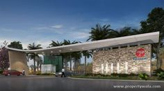 Apartments and Pent Houses for sale on Hennur Main Road , Bangalore at Mantri Web City Description: with perfect blen. Entrance Design, Entrance Gates, Main Entrance, Gate Design, House Design, Big Modern Houses, Gate City, Neoclassical Architecture, Gated Community