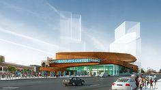 Barclay's Center | Atlantic Yards Brooklyn NY | sHoP Architects | Ellerbe Becket | Flatbush-Avenue-Looking-Northeast.jpg