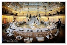 The Rookery Building, Chicago IL Wedding