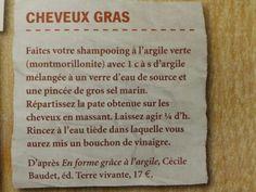 Masque cheveux gras
