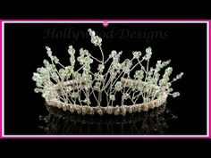 86a3b2c55a32 Handmade Bridal Wedding Swarovski Crystal Element - Fantasia Tiara    Hollywood-Designs.co.uk