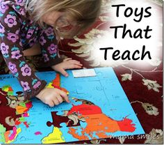 Our favorite educational toys - what are yours?