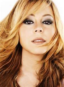 Mariah Carey {love her makeup}