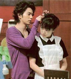 Matsumoto Jun(Tsukasa Domyoji ) and Inoue Mao (Makino Tsukushi) <3