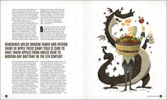 """Hot Rum Cow: A History of British CiderAgency: White Light MediaArt Director: Eric CampbellAwarded Runner up. Creative Quarterly CFE 30. Professional Illustration.  """"beautiful illustrations."""" - The Holborn.""""beautifully designed and inspiring""""- Ath…"""